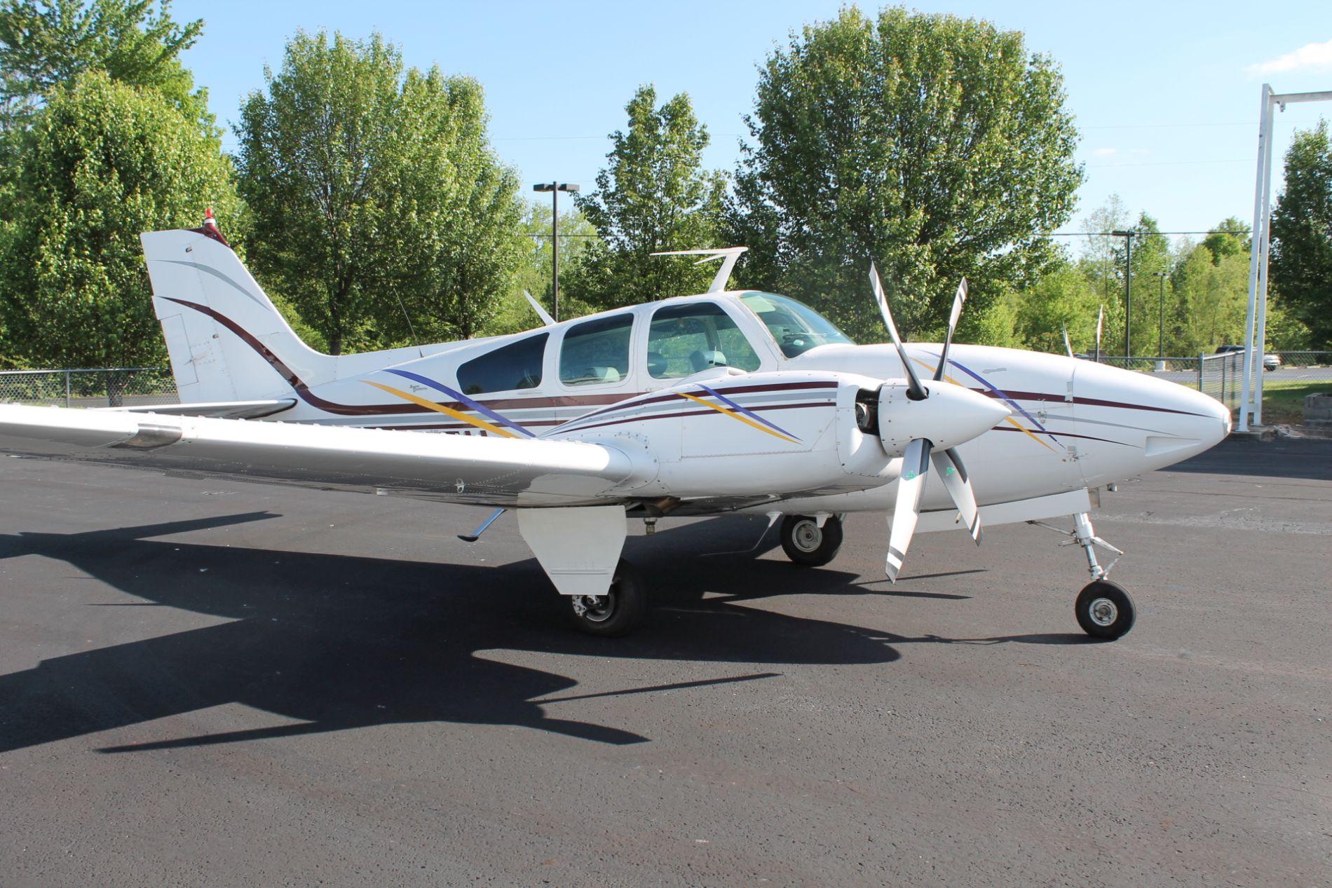 "1967 Beechcraft C55 ""Baron"""