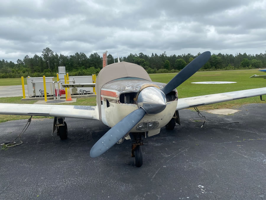 1979 Mooney M20K-231 (Salvage condition-Hurricane Damage)